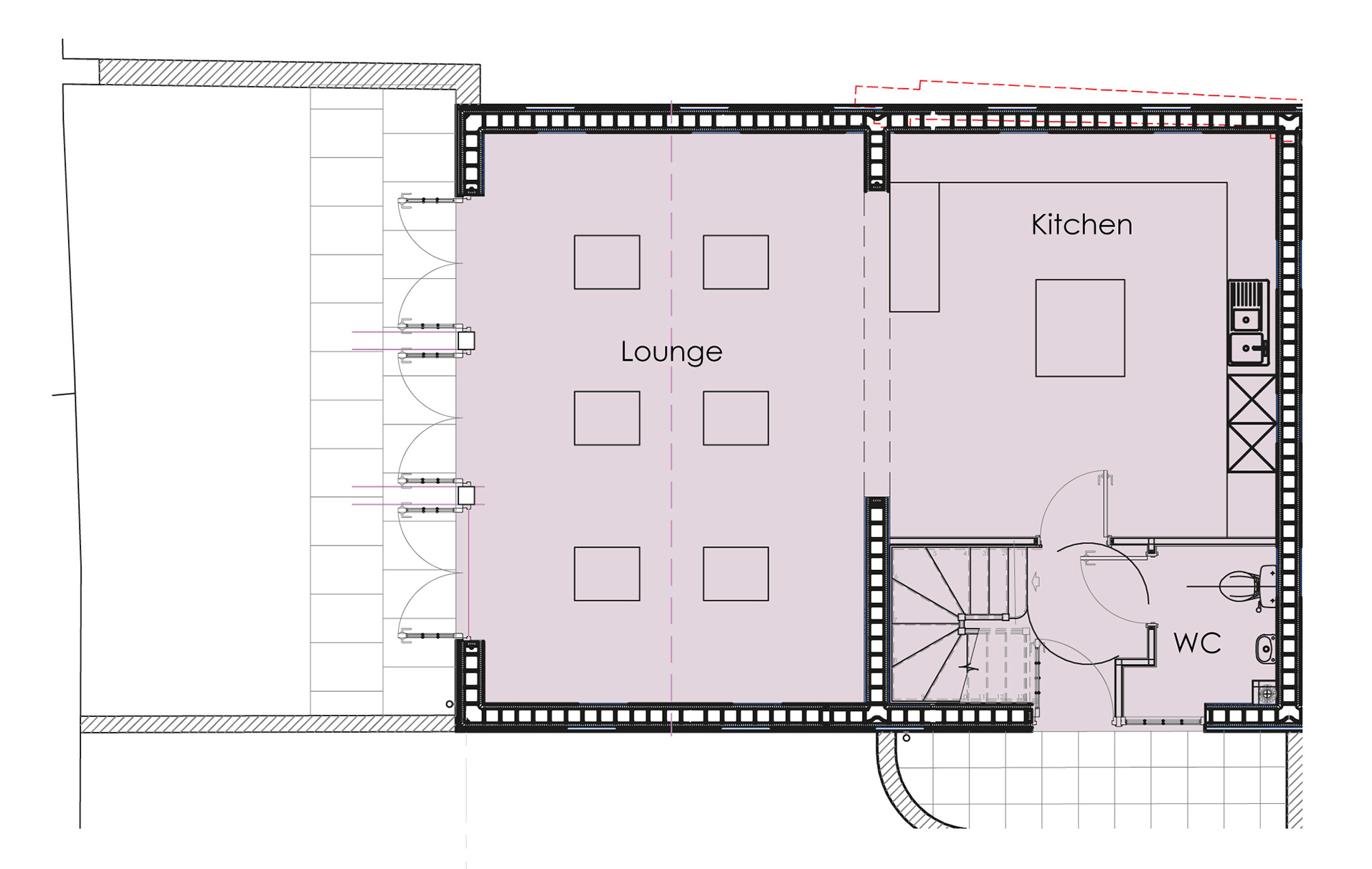 Ground floor - click on plan to enlarge