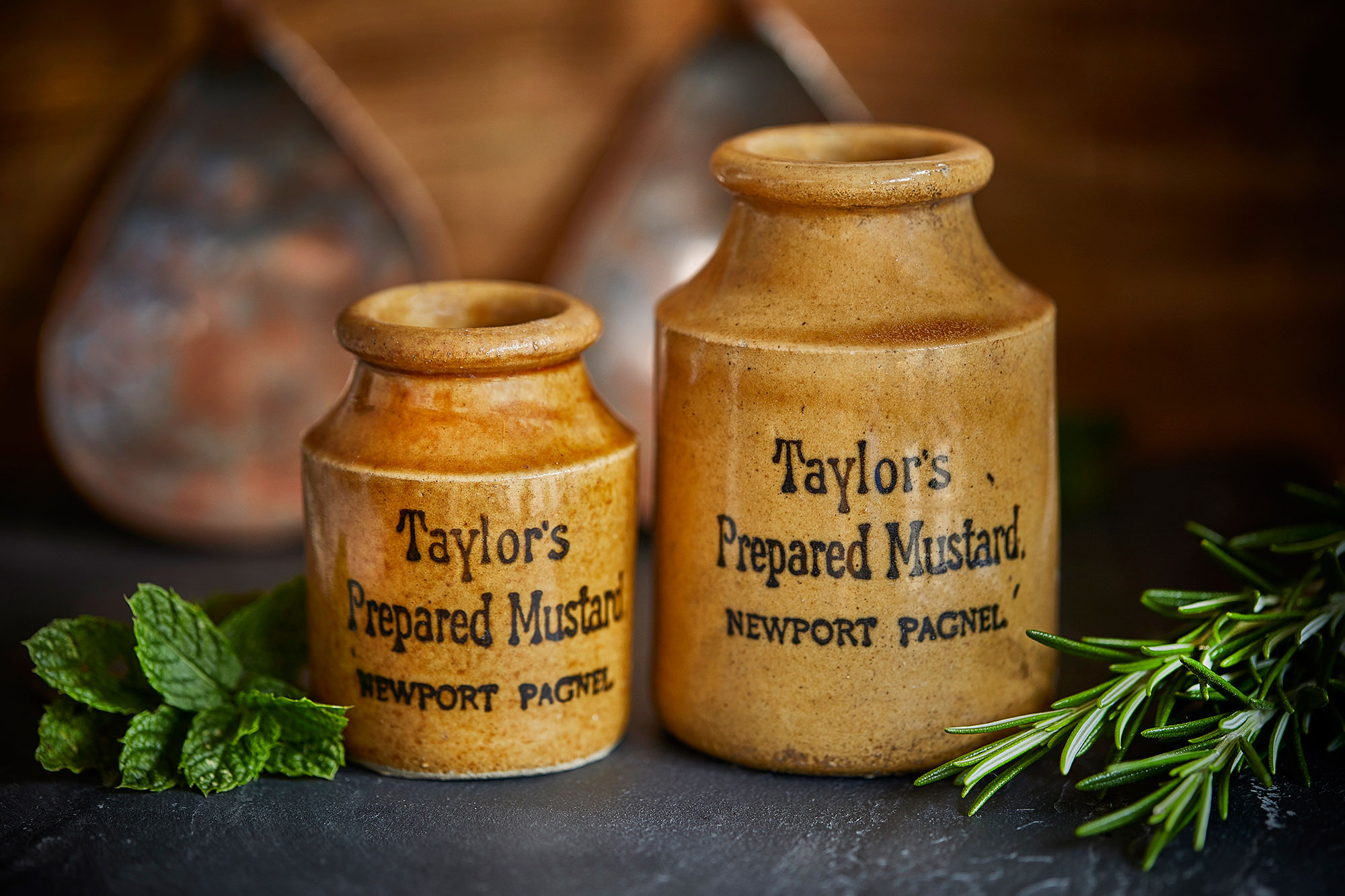 Taylors Mustard, the original and still the best, as made in Newport Pagnell