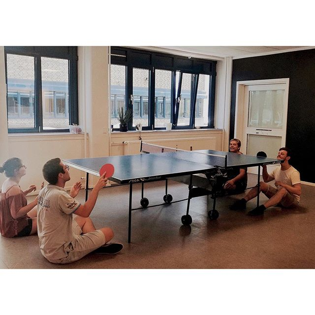 Creativity, observation, and attention to details are often trained while working at Vital Beats �⠀ ⠀ ⠀ ⠀ #pingpong #pingpongandtable #tabletennis #competiton #sunordics #singularityu #productivityinbusiness #productivitiy #workplace #funplace #team #medtech #copenhagen #denmark #cph #mhealth