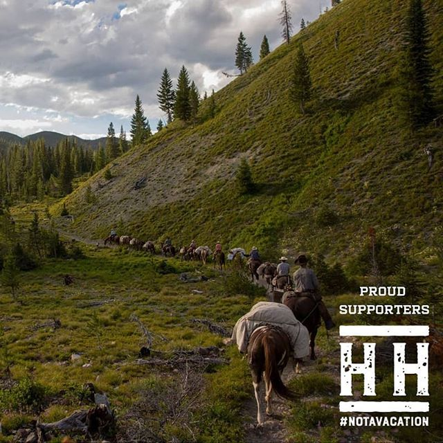 Repost from our friends @heroesandhorses, currently leading training camps for veterans in Montana in preparation for an 8-day wilderness trek on horseback across the most remote areas of North America. And Hippie Cow is keeping them full and well-fed in the process!  🏔️ We are pleased to donate our finest American beef to feed these incredible American heroes while they learn horsemanship, wilderness training, ranching & back-country survival skills. Heroes & Horses profoundly impacts the lives of our veterans in the US and we are proud to support them. . . . . #heroesandhorses #notavacation #veterans #veteranscause #veterancharity #America #wilderness #horses #heroes #proudsponsors #hippiecowbeef #pastureraisedbeef #ranching #horsemanship #usa