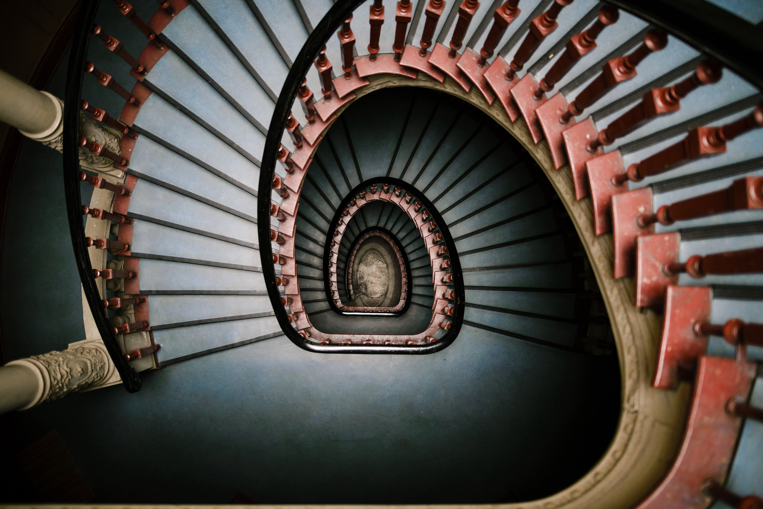 one of the most beautiful staircases in berlin.