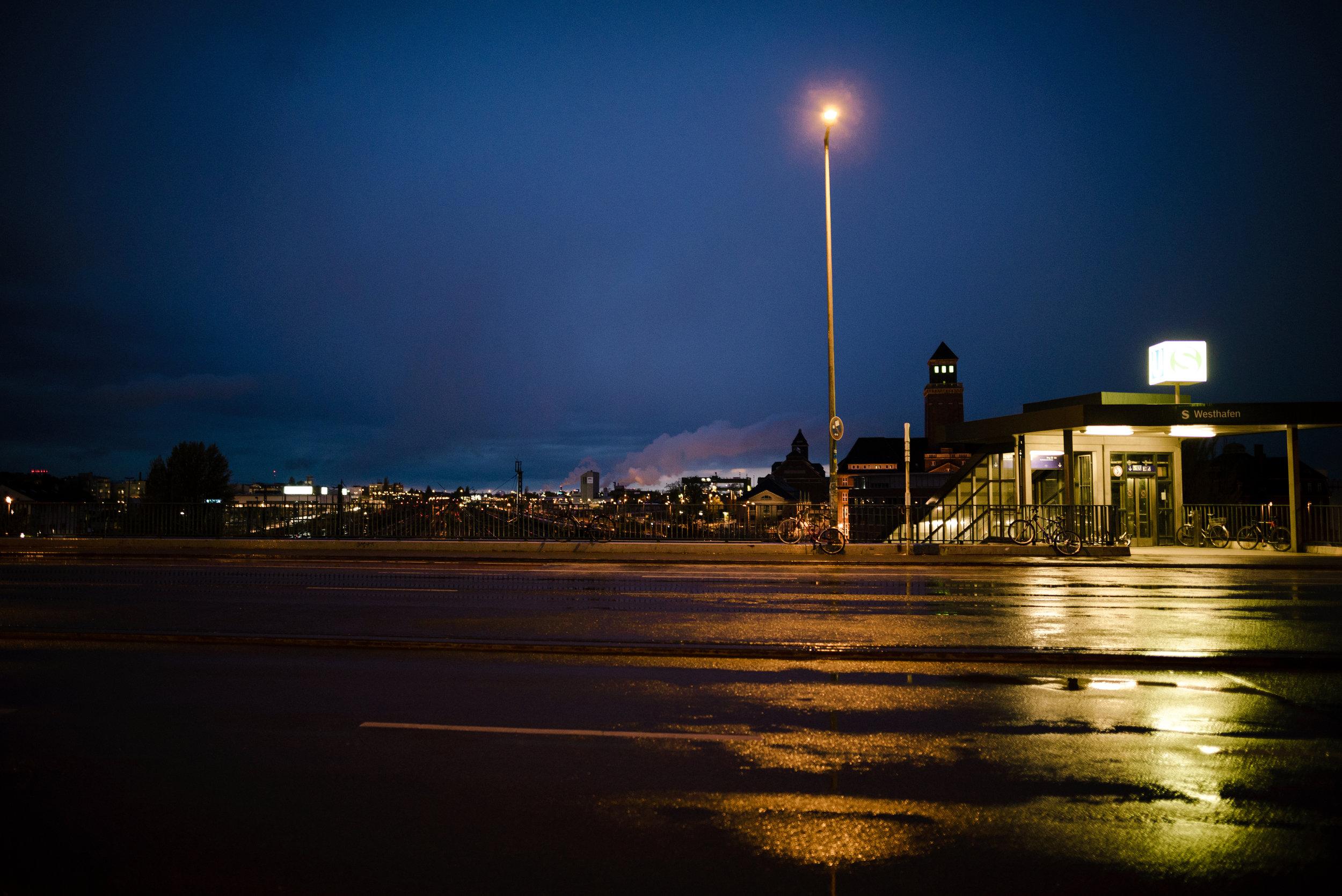 s-bhf westhafen.