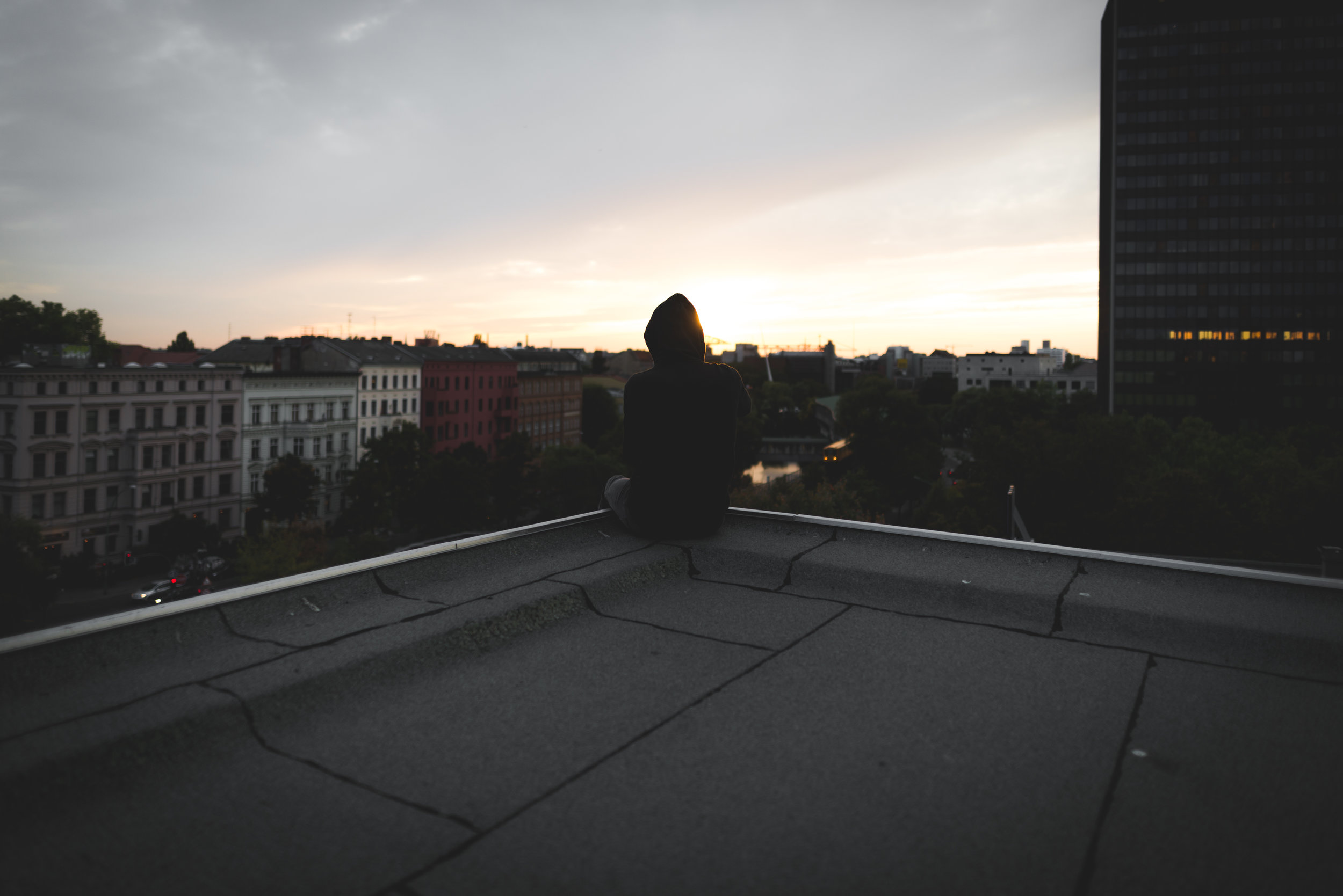 rooftop with chris.