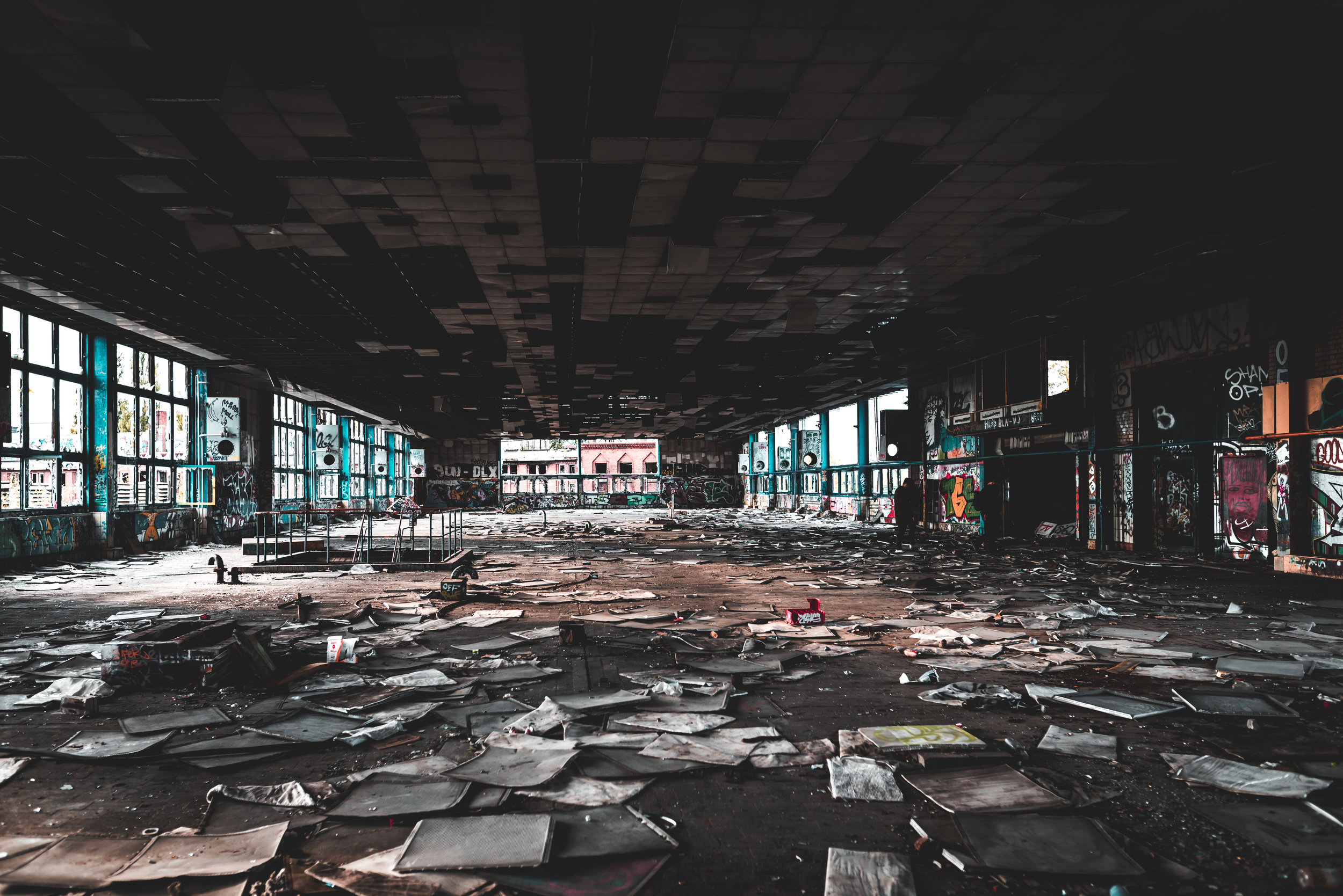 abandoned brewery.