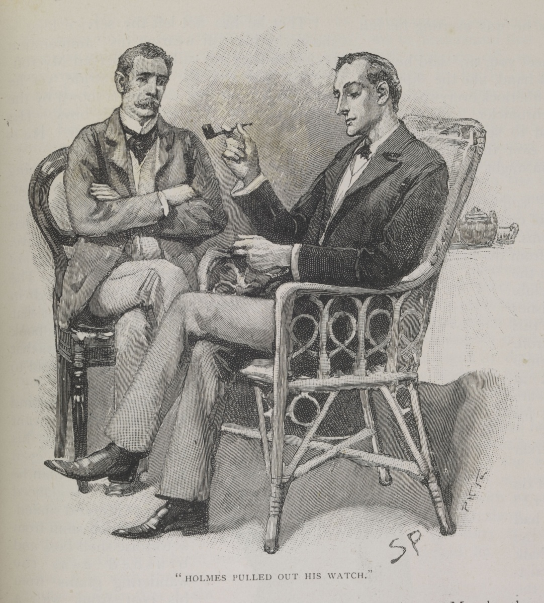 Source: Illustration by Sidney Paget.