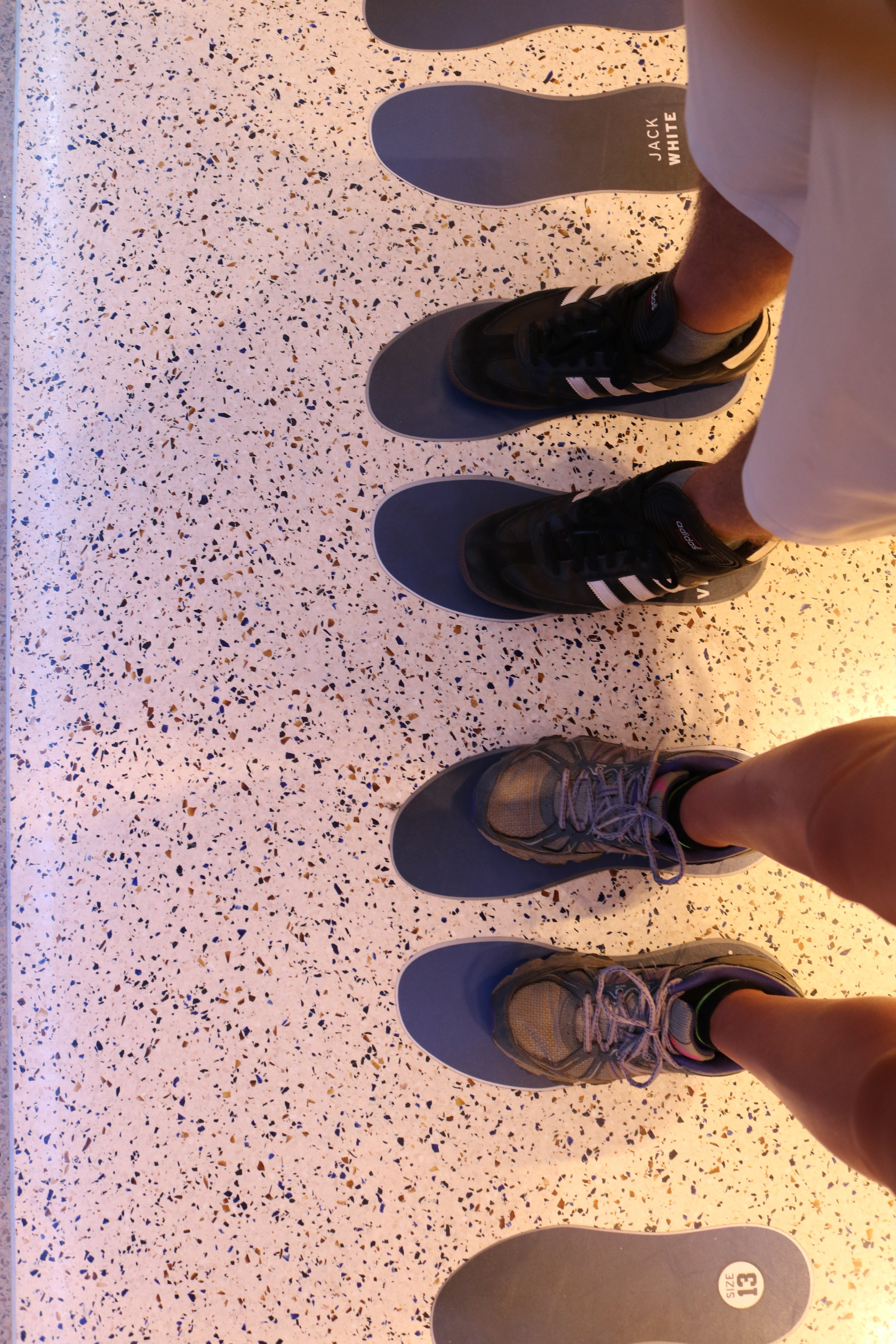 When my wife and I visited Cameron Indoor Stadium this summer, It was fun to see just how much smaller our feet are than those of former Duke basketball players.