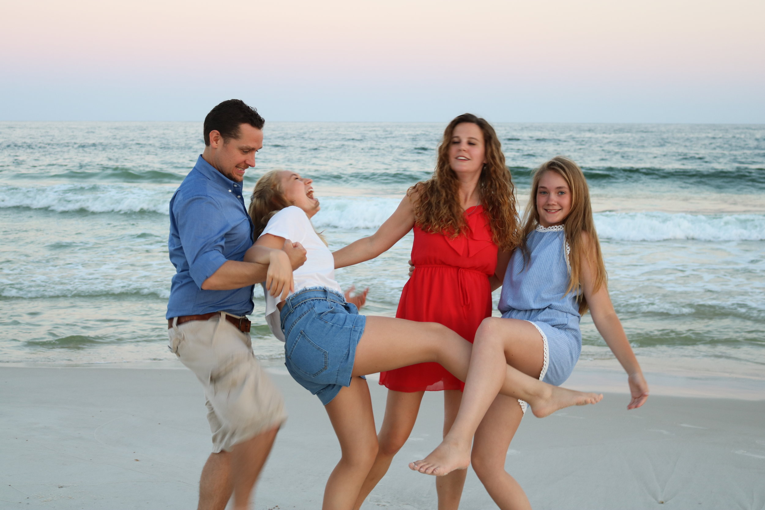 Sometimes this is what family life is like: goofy, unpolished, and yet full of laughter!