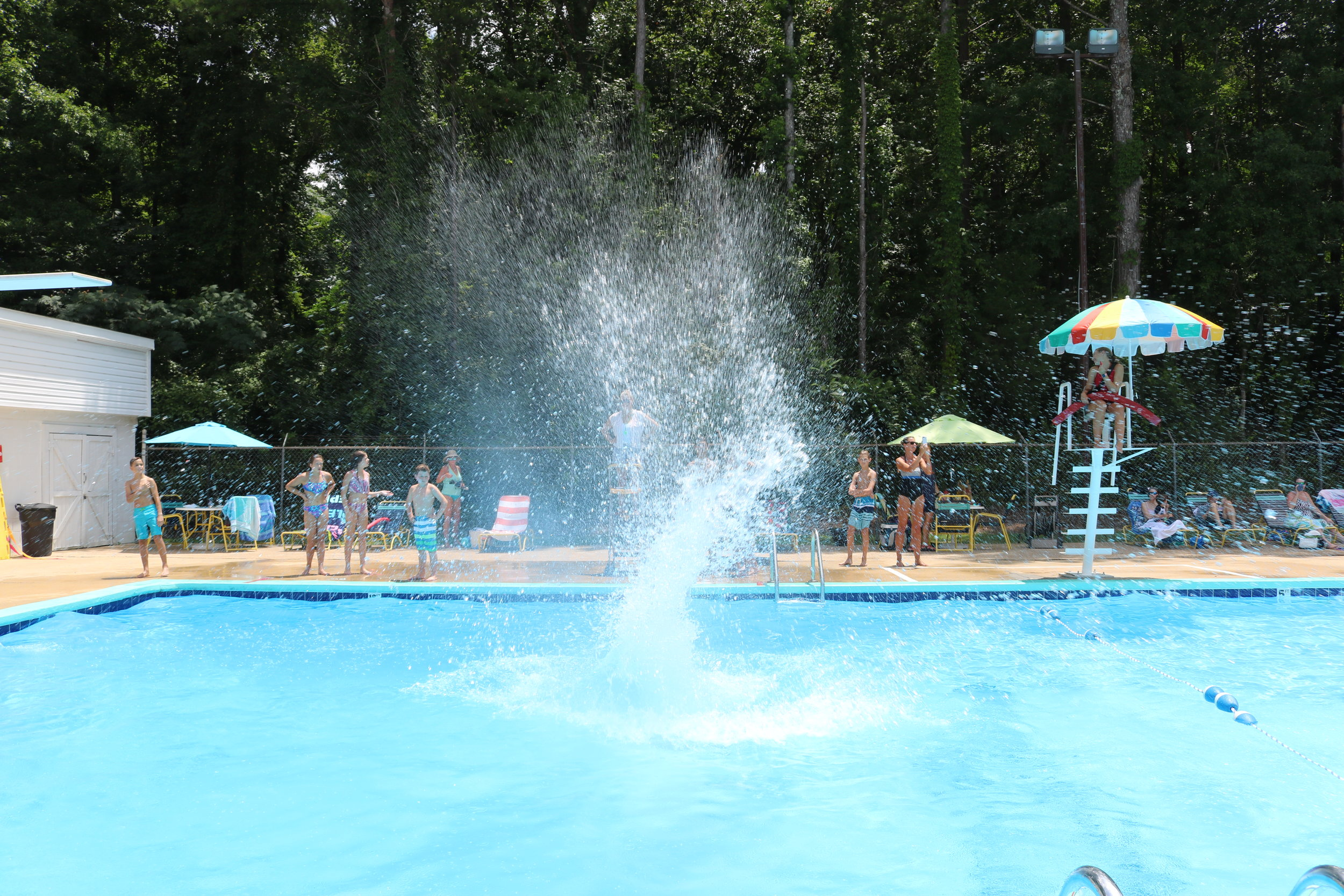 The annual Big Splash Contest was a huge hit!