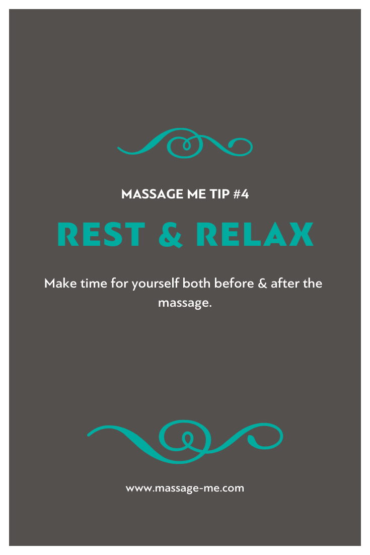 Massage Me Top Tips and FAQs