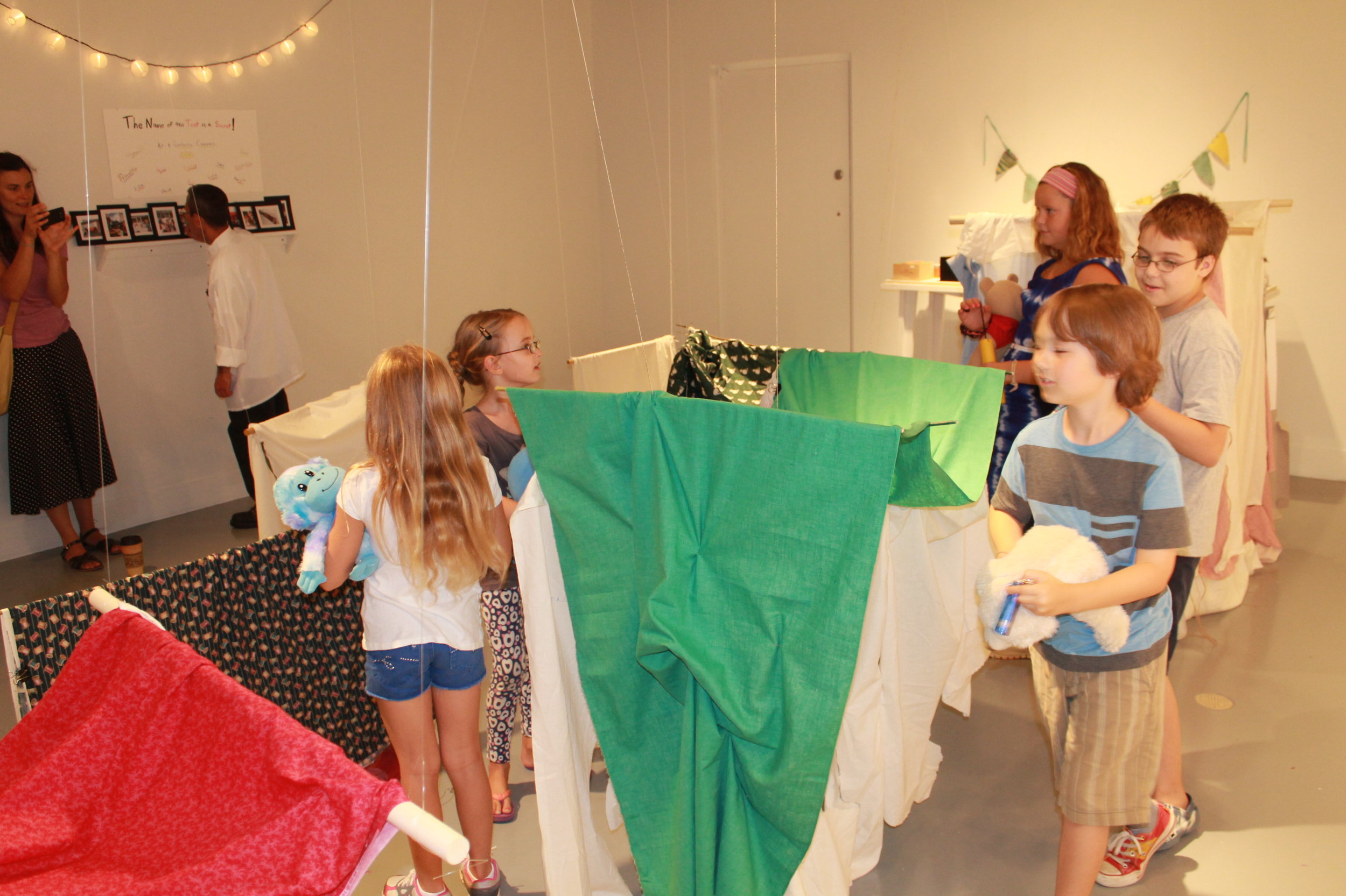 Design your own tent exhibition