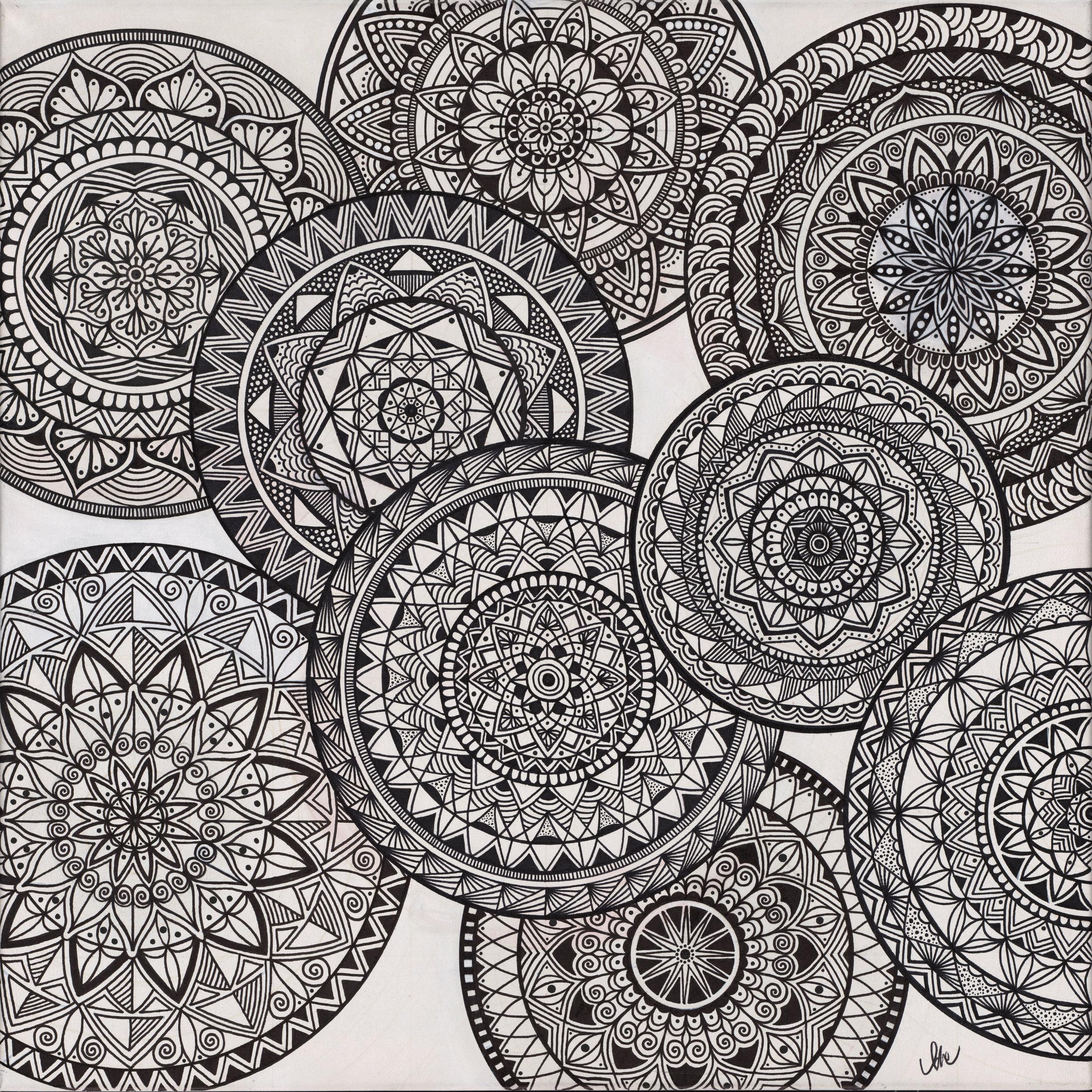 Mandala of 9