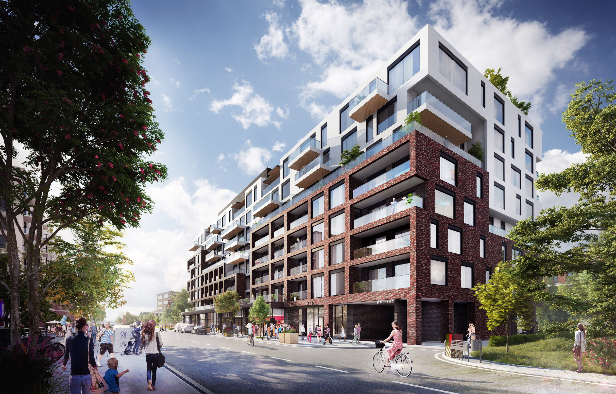 Oakville - A stunning new mid-rise condo with integrated retail coming to Oakville. It's bringing a contemporary edge to town.