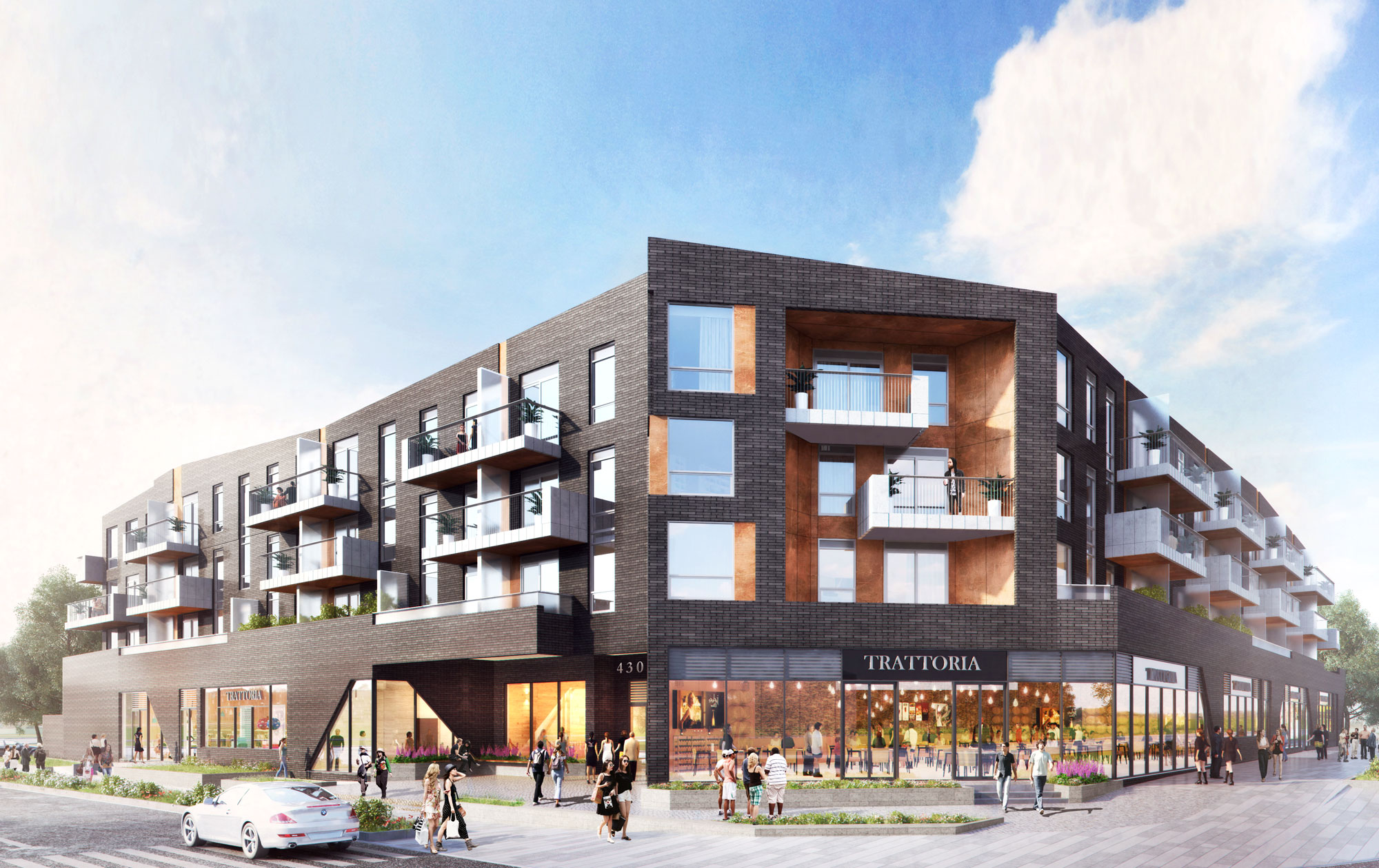 Barrie, Ontario. - A boutique mid-rise condo with integrated retail space that will elevate the rapidly expanding Barrie. Stay tuned for updates.