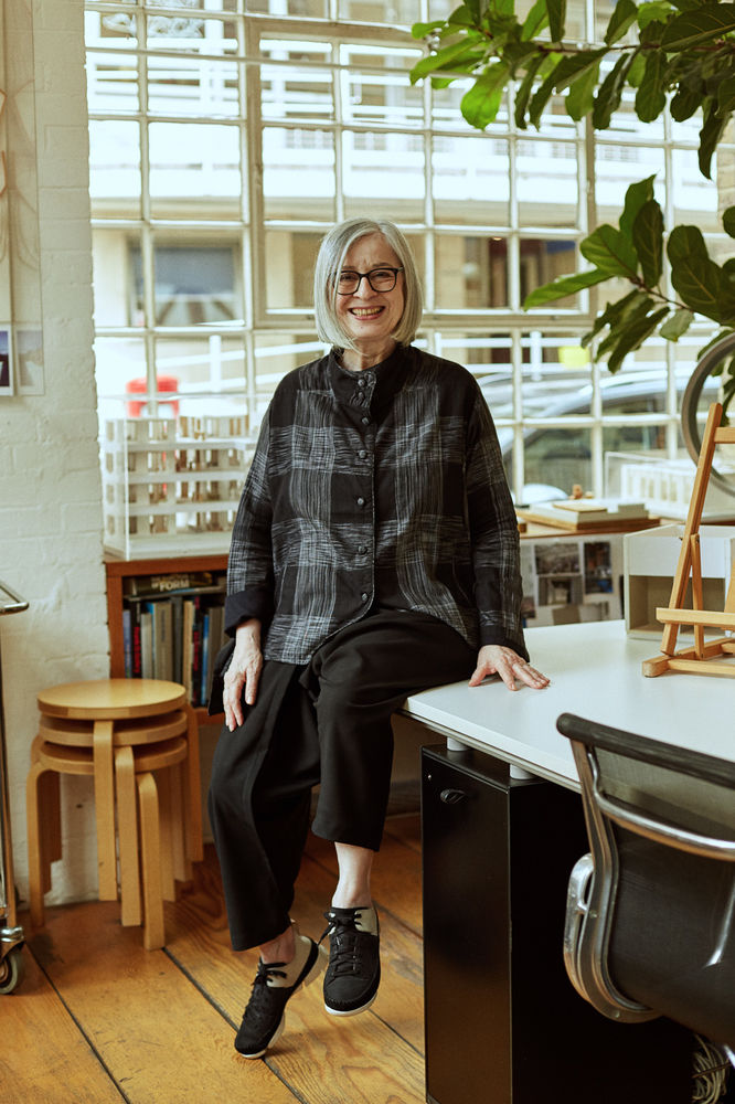 """What's most interesting with each project is the behavior of people. It's not just about the environment I create, it has to be about the behavior of people as well. If nobody sits on say, the sofa, then it simply won't work,"" refers Sevil Peach. -"