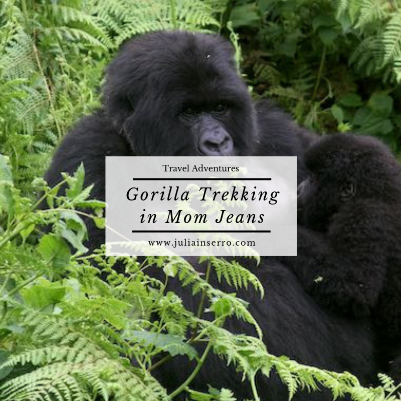 Gorilla trekking in mom jeans.png
