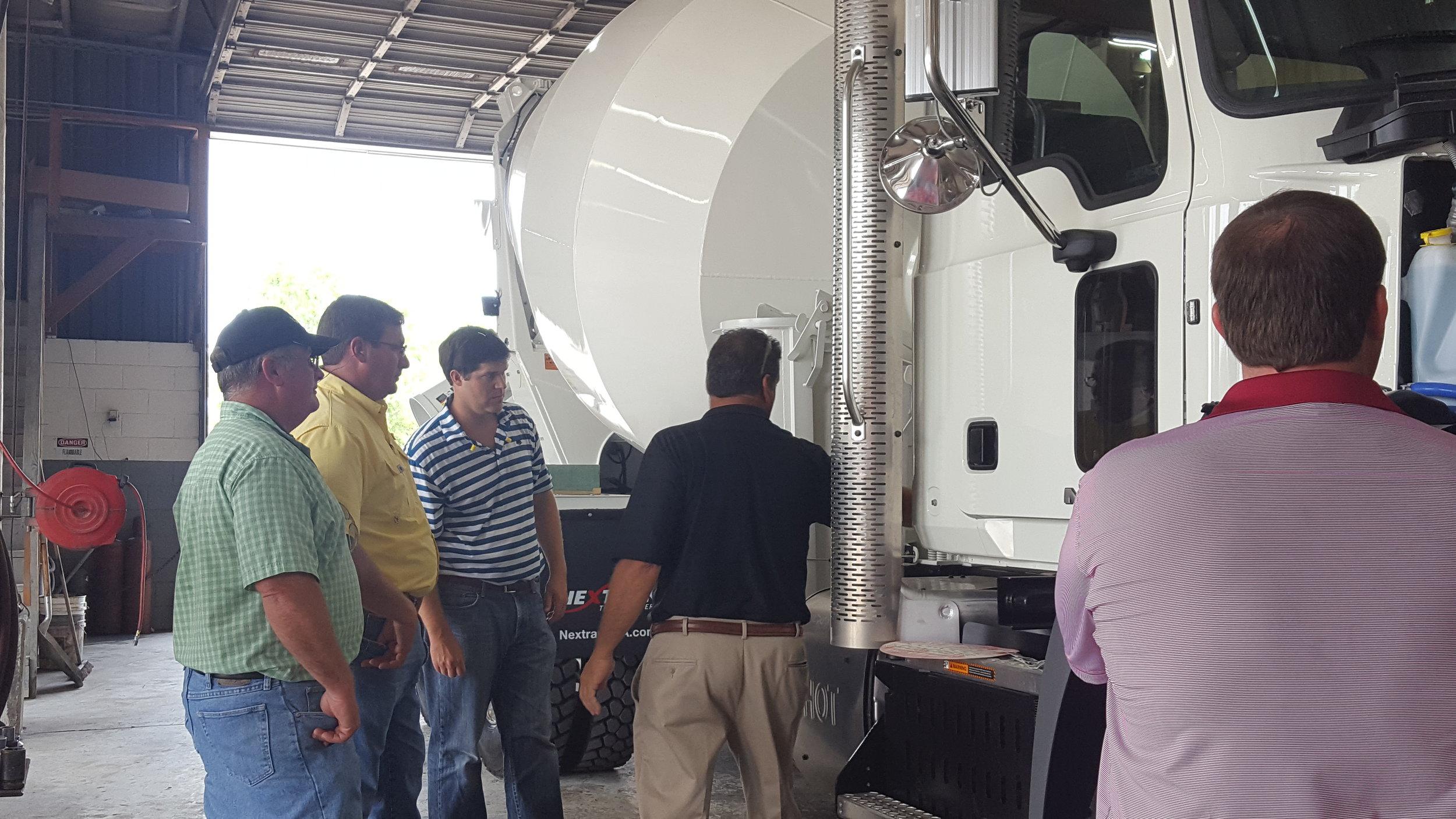 Rep. Jason Shaw, Rep. Dominic LaRicca, and Rep. John Corbett on a plant tour in Valdosta, GA.