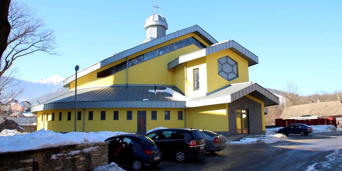 Nový rímskokatolický kostol | Lendak