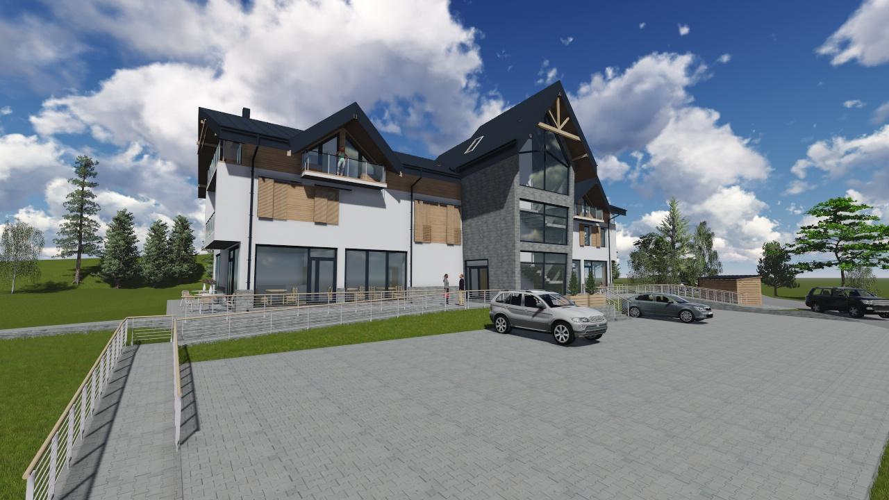 Vila Bethlen - Lokalita: Tatranská LomnicaDátum dokončenia: leto 2018