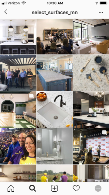 Showroom Marketing | Instagram Management