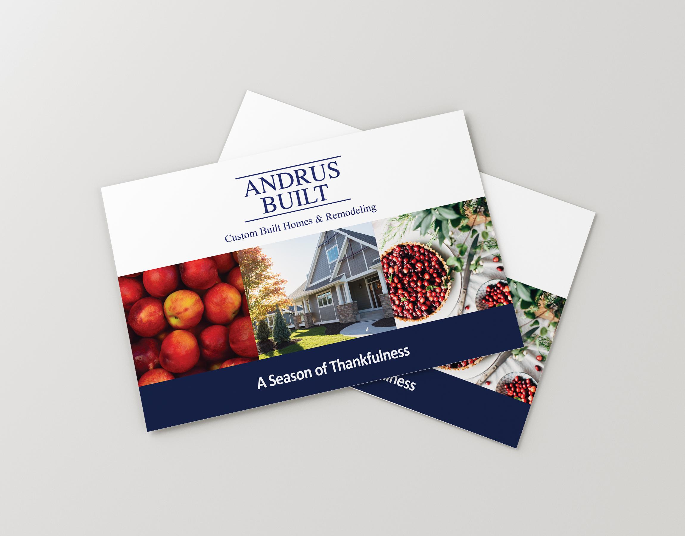 Postcard Design for Home Builders