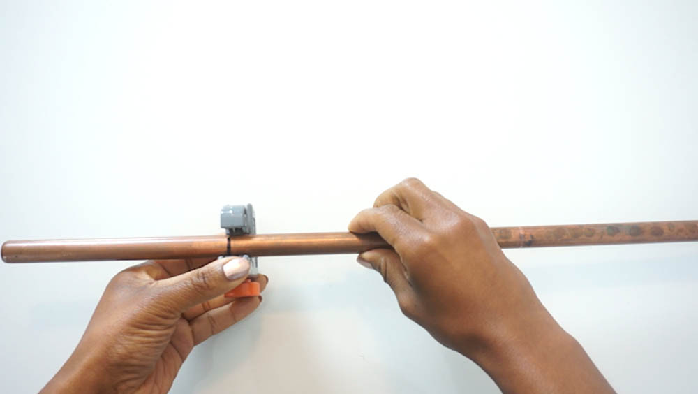 How To Cut Copper Pipe For Copper Pipe Ladder Rescue My Space Project.jpg