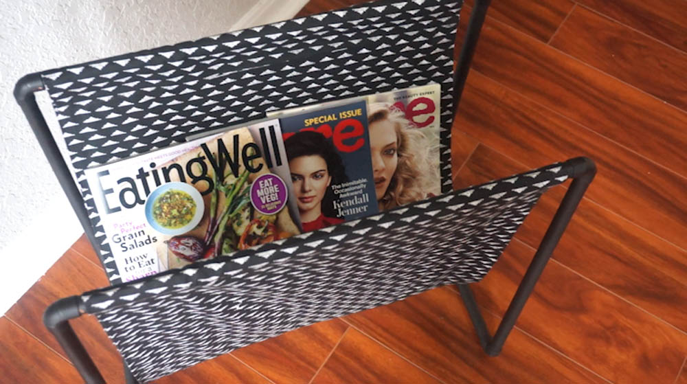DIY Copper Pipe Magazine Rack with Rescue My Space.jpg