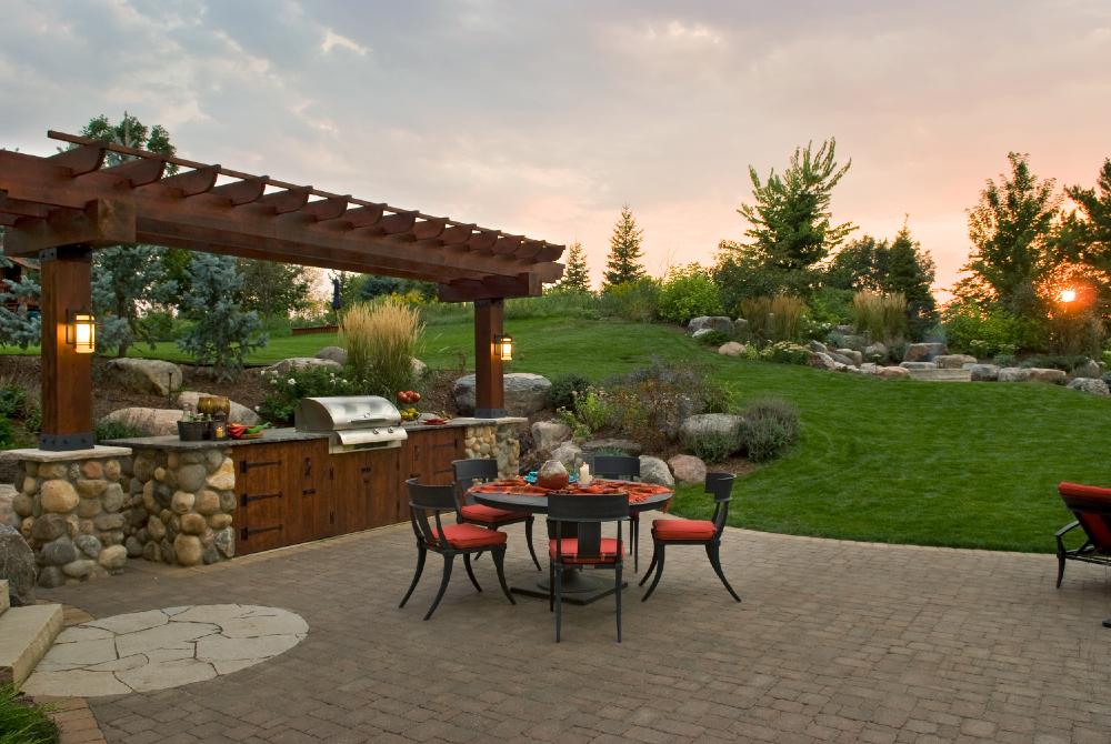 Outdoor Kitchens -