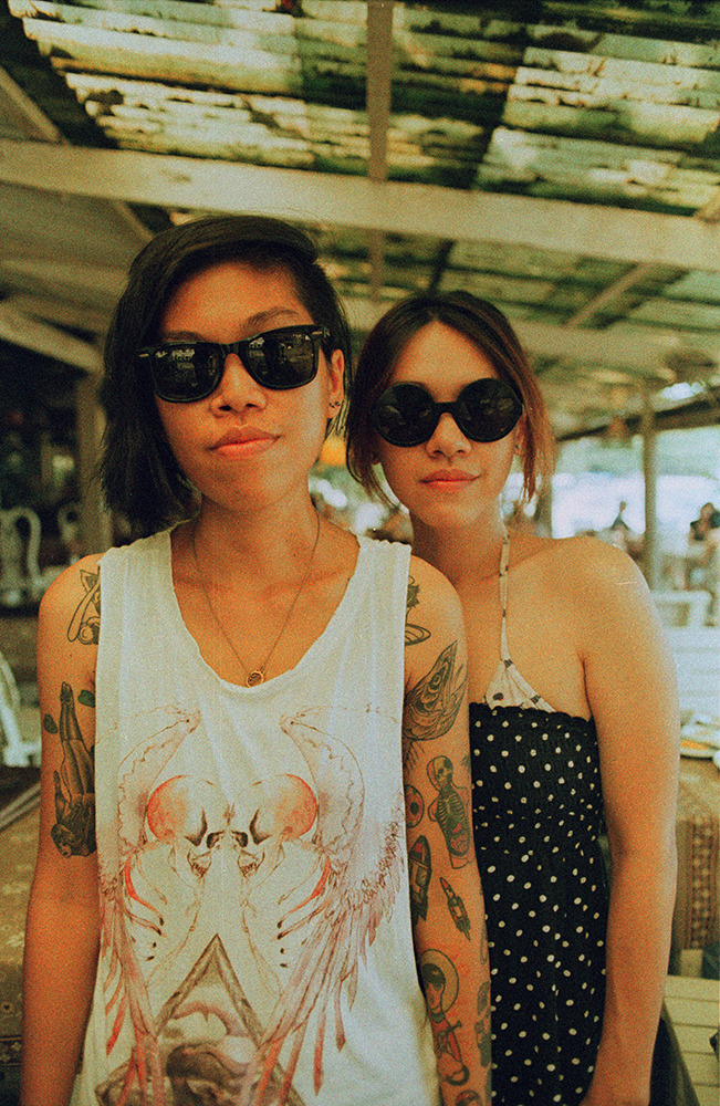 Two old friends in Thailand. Sometime in Spring '13
