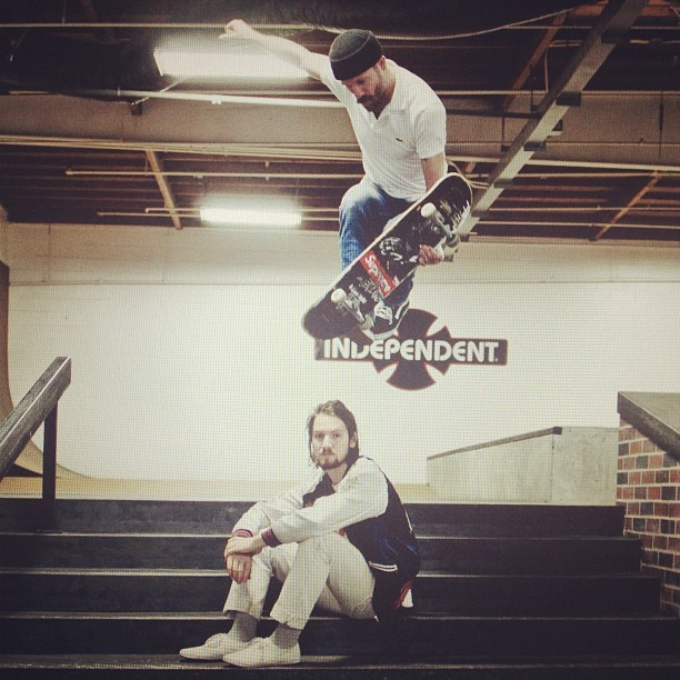 mikepiscitelli :     Blake Mills is on insta gram! @breakmirrors  (Taken with  instagram )