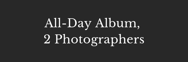 £1750 - All-Day coverage by 2 PhotographersGolden hour shootProfessionally edited photosSignature on-trend styleOnline gallery to share with friends and familyDownload your high-res imagesA beautiful album included2nd Professional Photographer