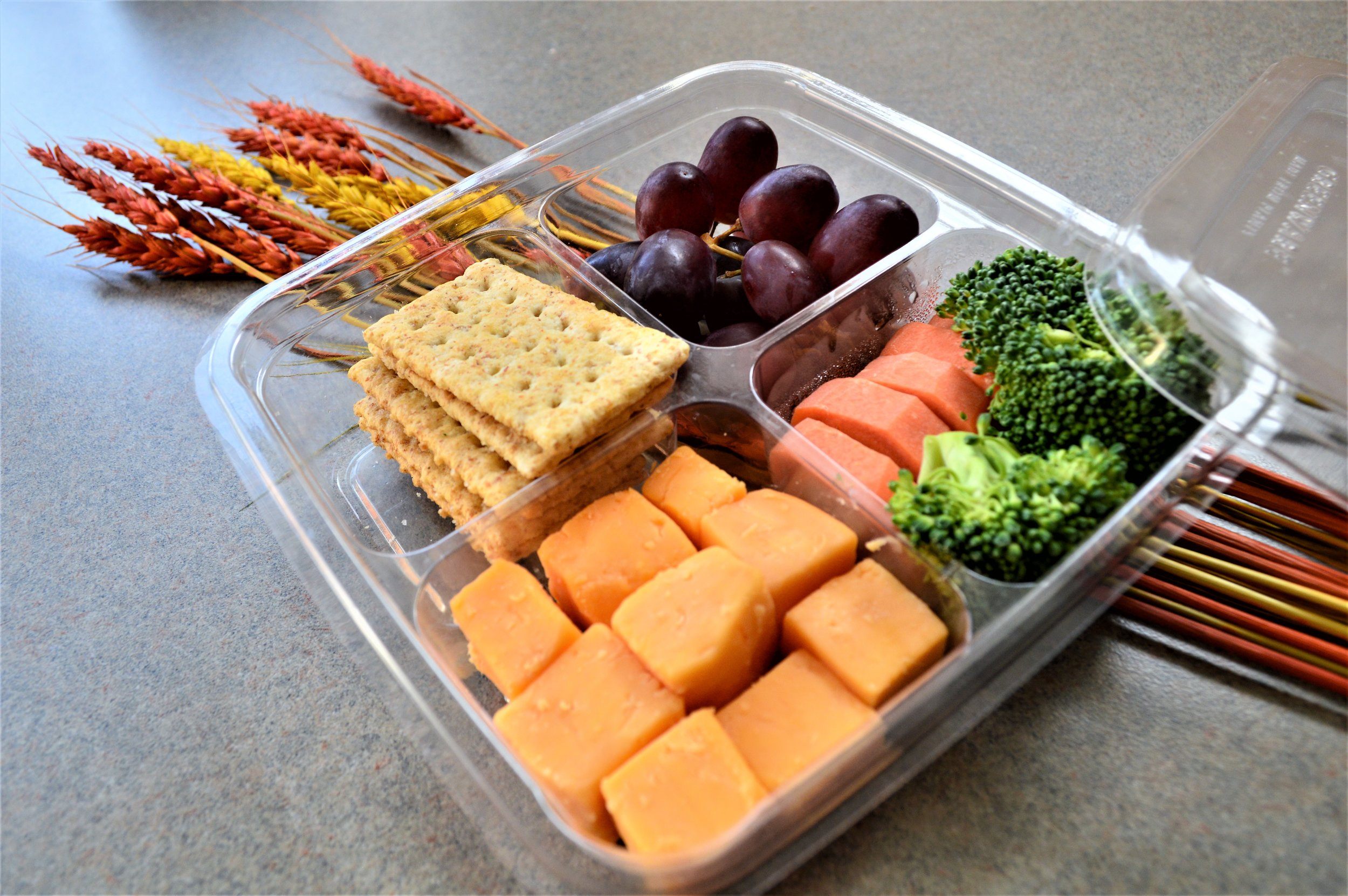Dash - We understand that classes, work, and athletics can make an already busy schedule even busier. That's why Dash provides a variety of hot and cold grab & go items such as yogurt parfaits, protein boxes, sandwiches and wraps, and much more.