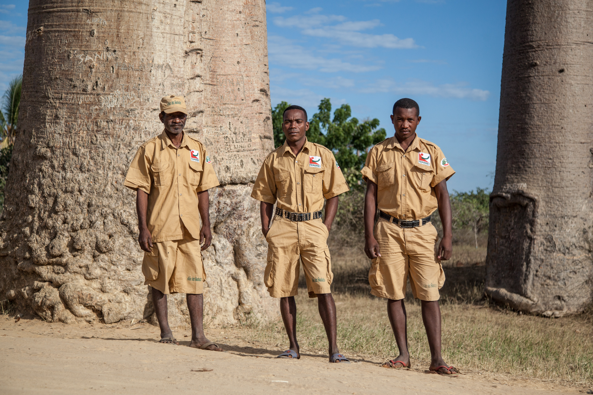 Park Wardens Protect the Trees from Illegal Loggers and Arsonists While Planting 2,000 Baobabs each Year but Struggle to Support their Own Wages