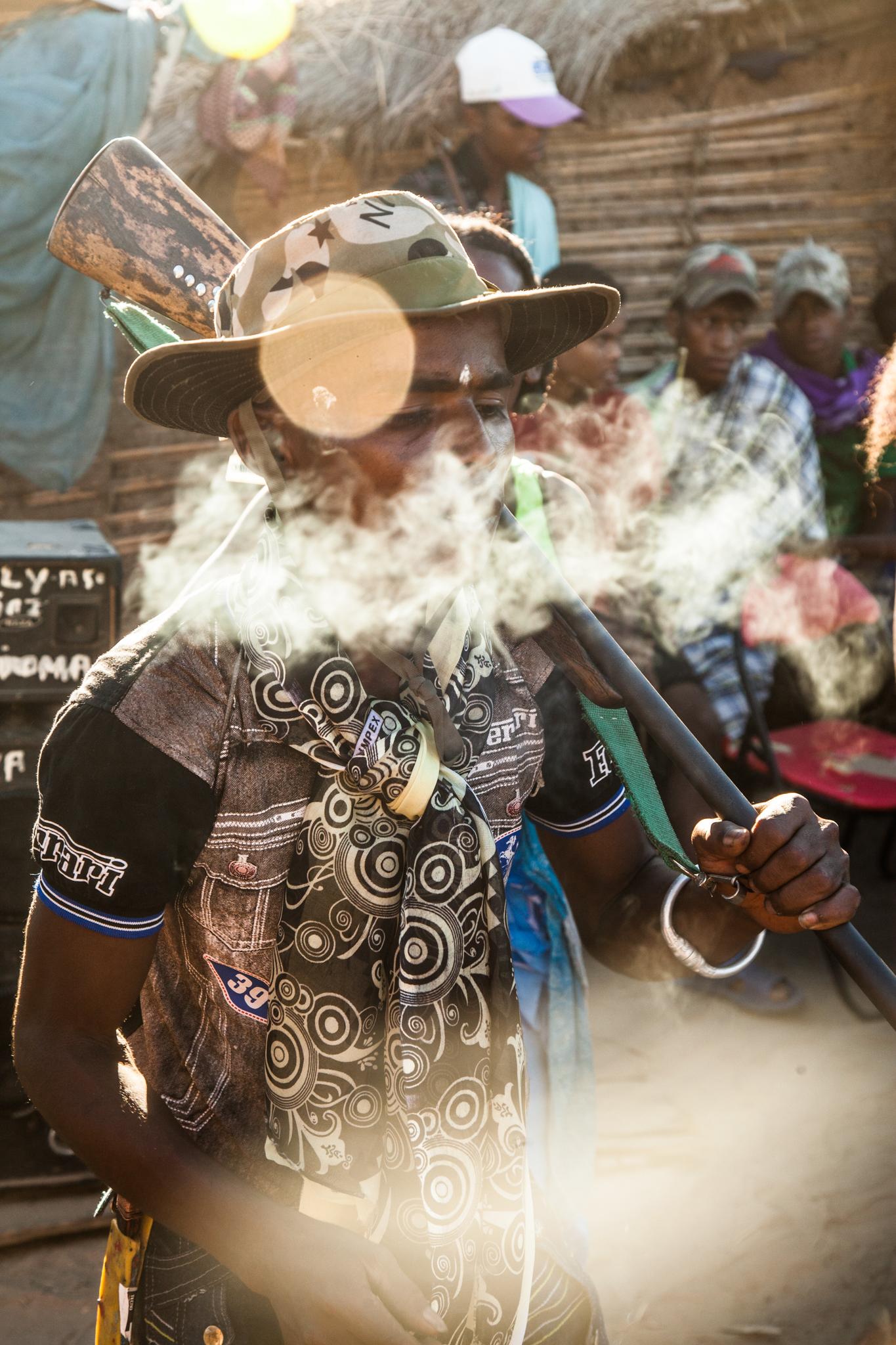 Kisoka (local tabacco) is more potent than cigarettes