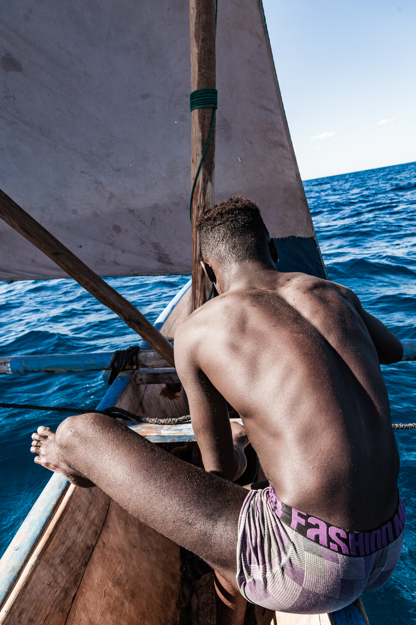 A life spent above the waves give the Vezo a comfort with the ocean