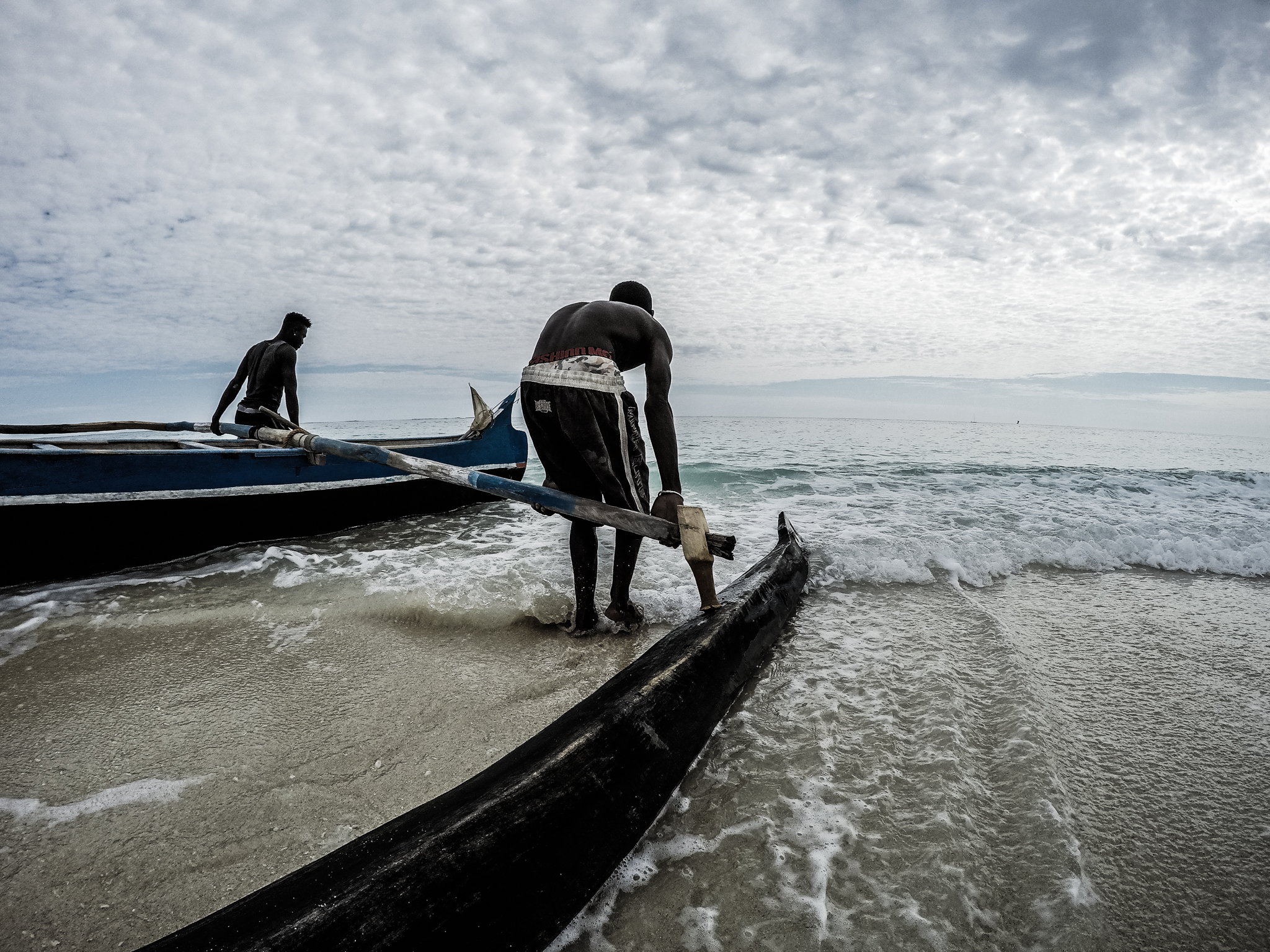 Lakanas (the standard fishing vessel) are constructed from trees felled in the neighbouring Kirindi National Park