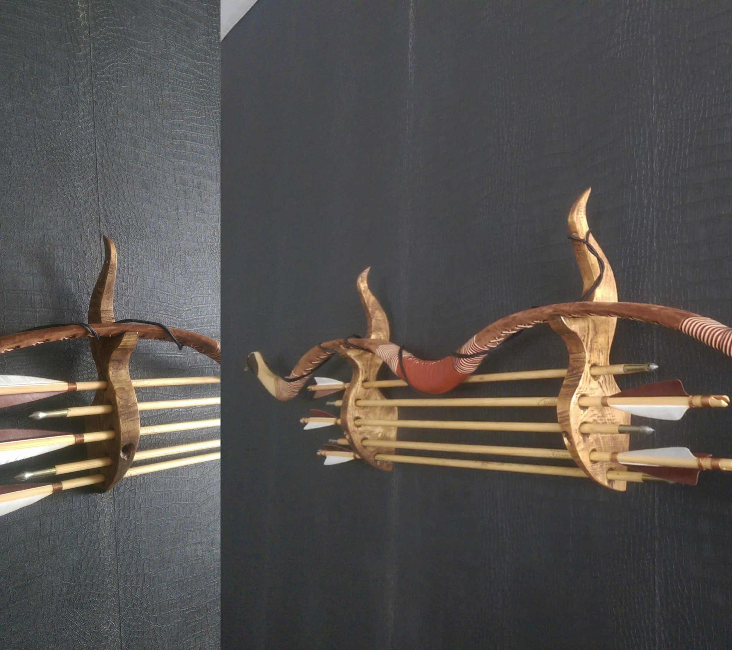 Bow and arrow mount