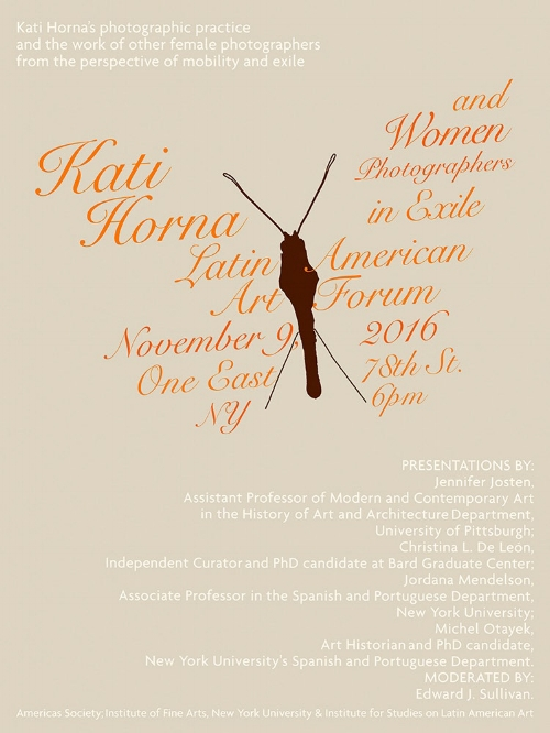 ISLAA - Website - Initiatives - Post 49 - Poster - Kati Horna and Women Photographers in Exile.jpg