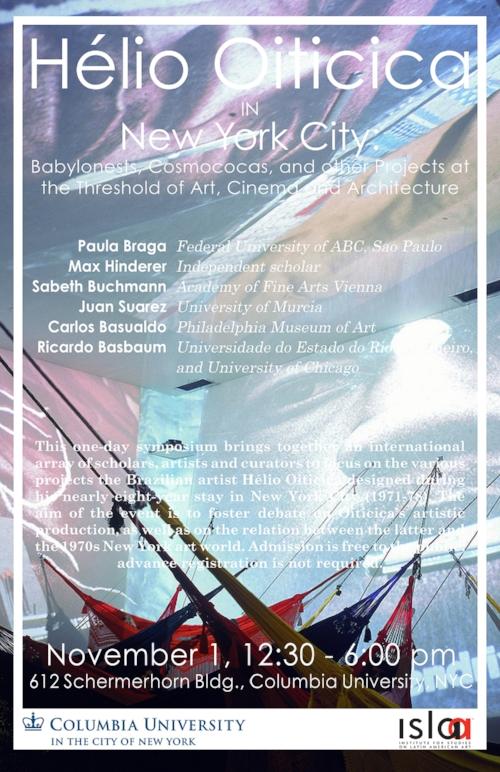 ISLAA - Website - Initiatives - Post 17 - Poster - Hélio Oiticica in New York City.jpg