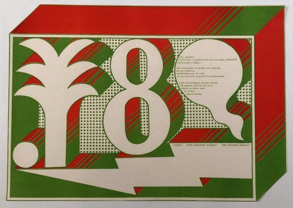 "Edgardo Giménez,  Serie ""Por Siempre Ameba"" de Luciana Daelli , 1968, Los Angeles County Museum of Art, gift of the Institute for Studies on Latin American Art (ISLAA)"