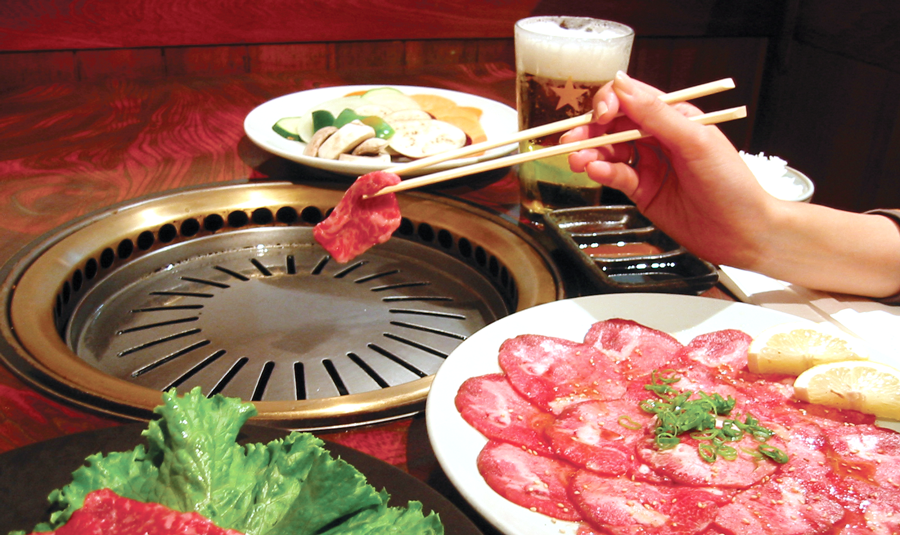 Yakiniku - 焼き肉is a Japanese style BBQ that means