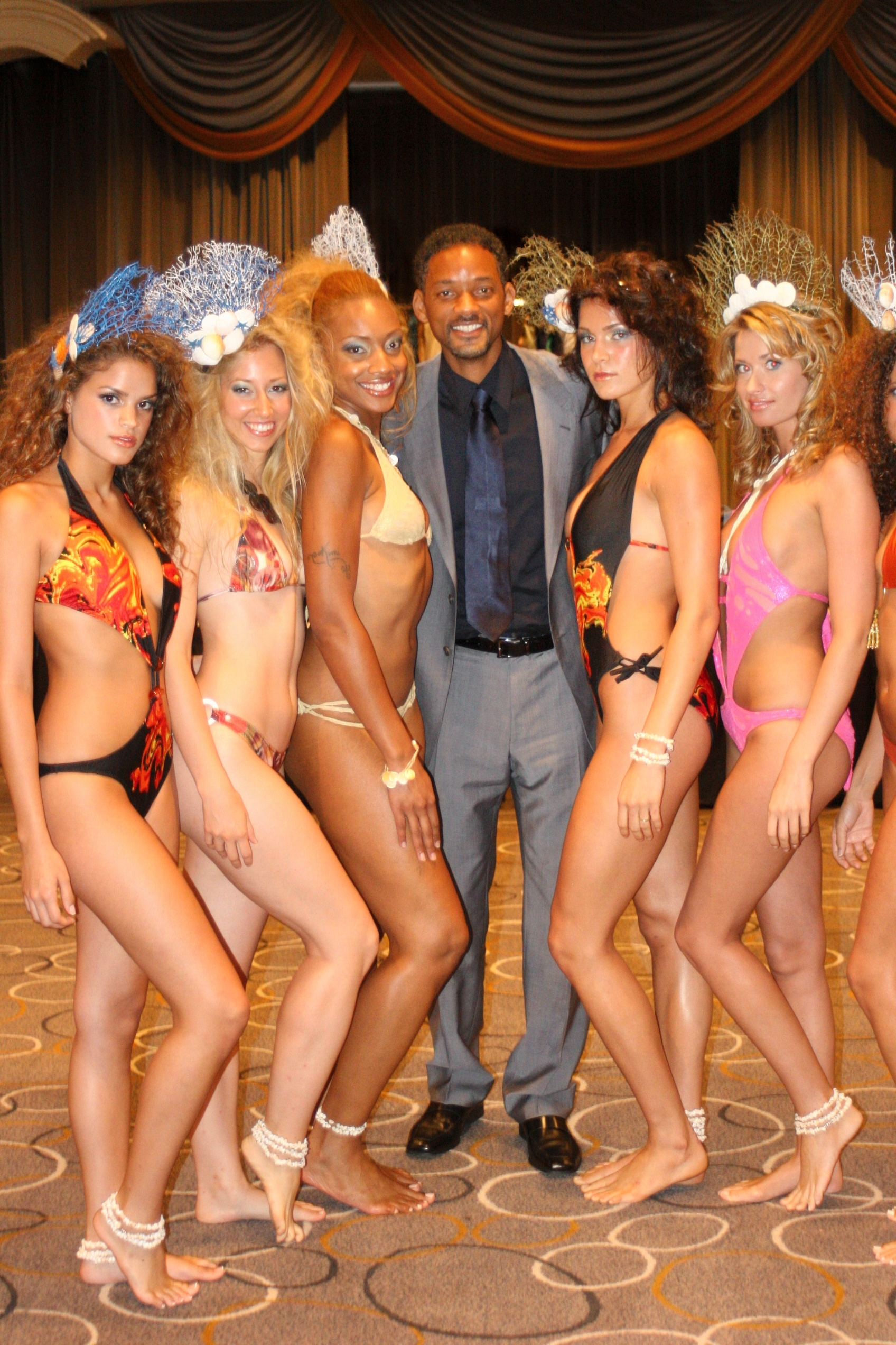 Models with Will Smith.JPG