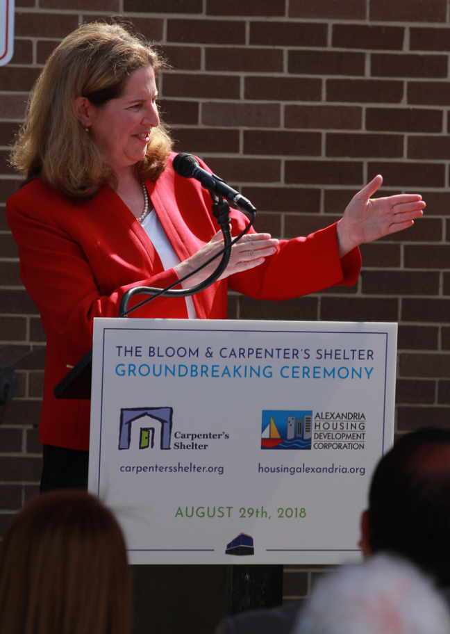 """Alexandria is a city of kindness, and compassion."" -Mayor Silberberg"