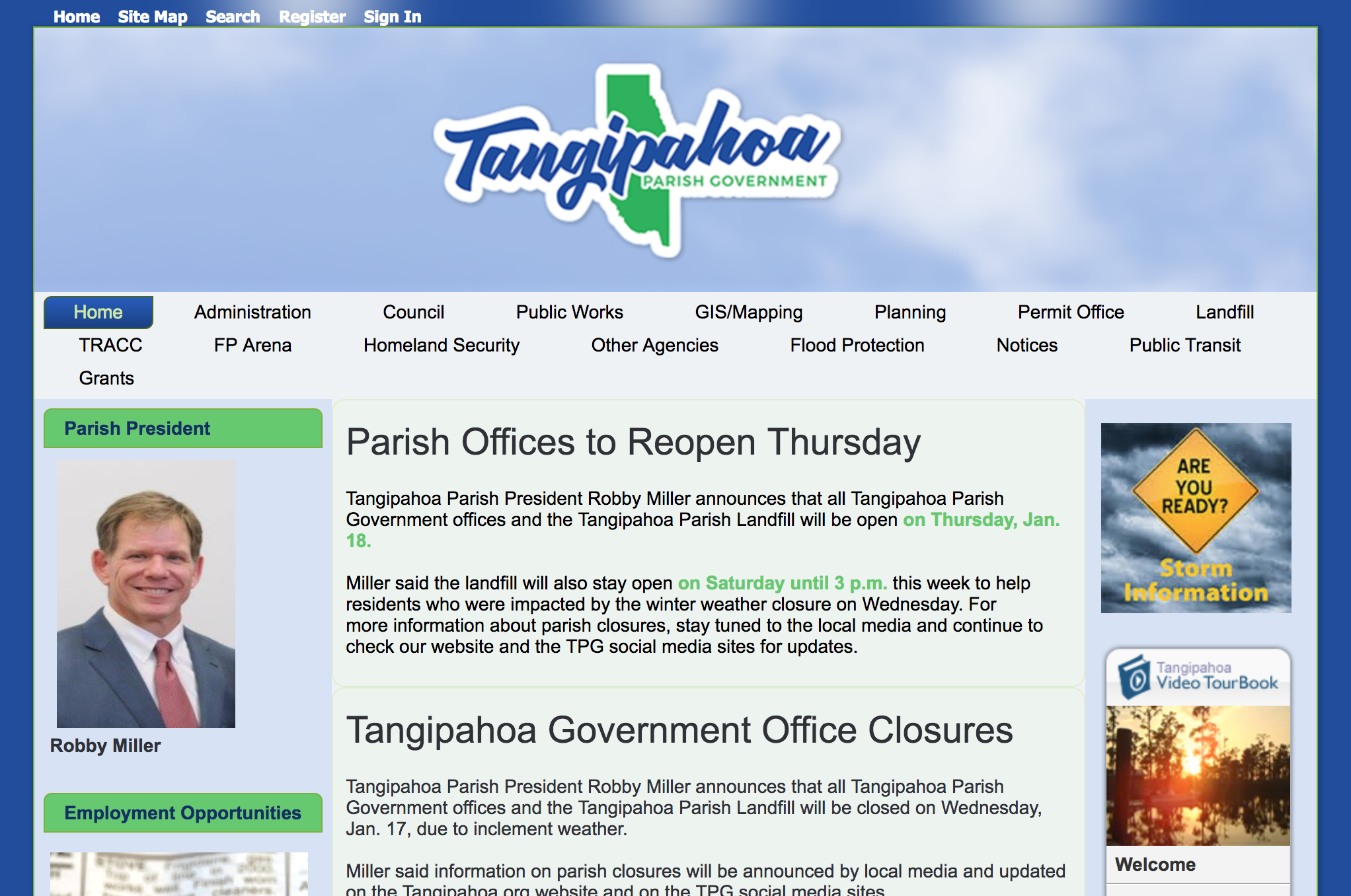 Tangipahoa Parish Government