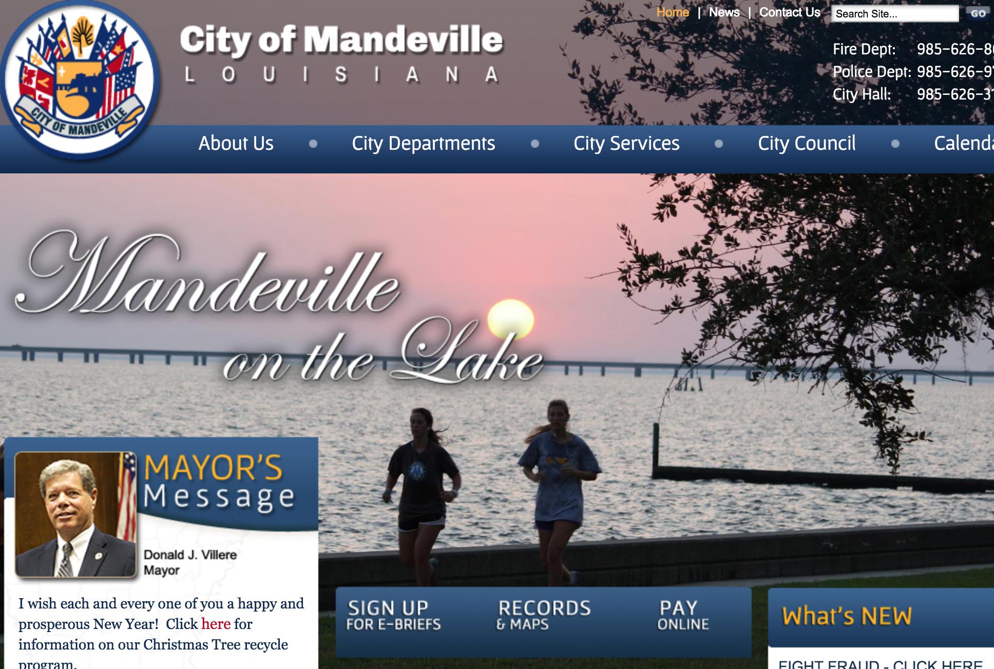 City of Mandeville