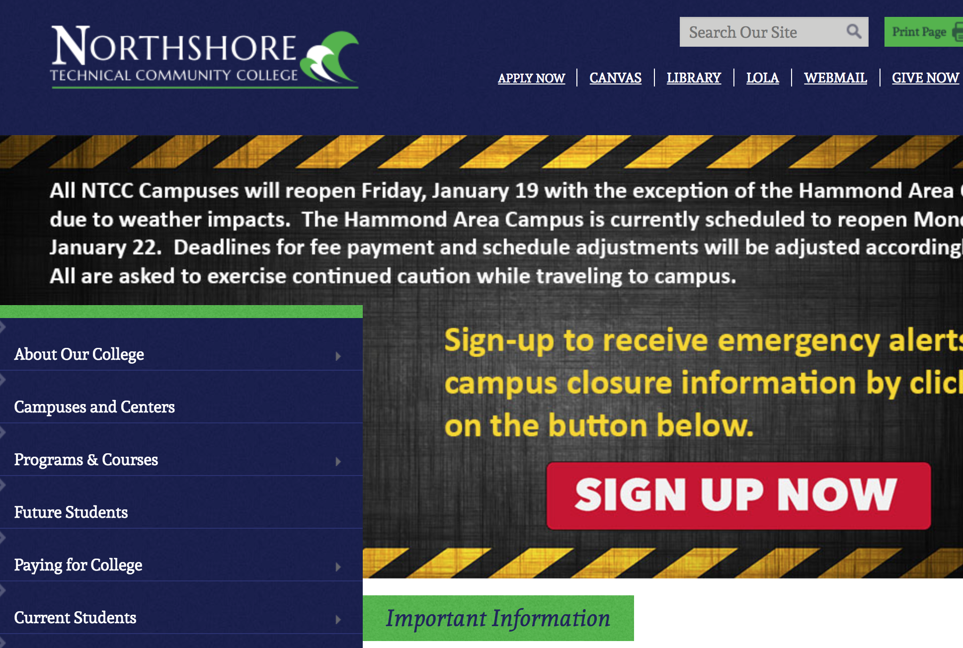 Northshore Technical Community College