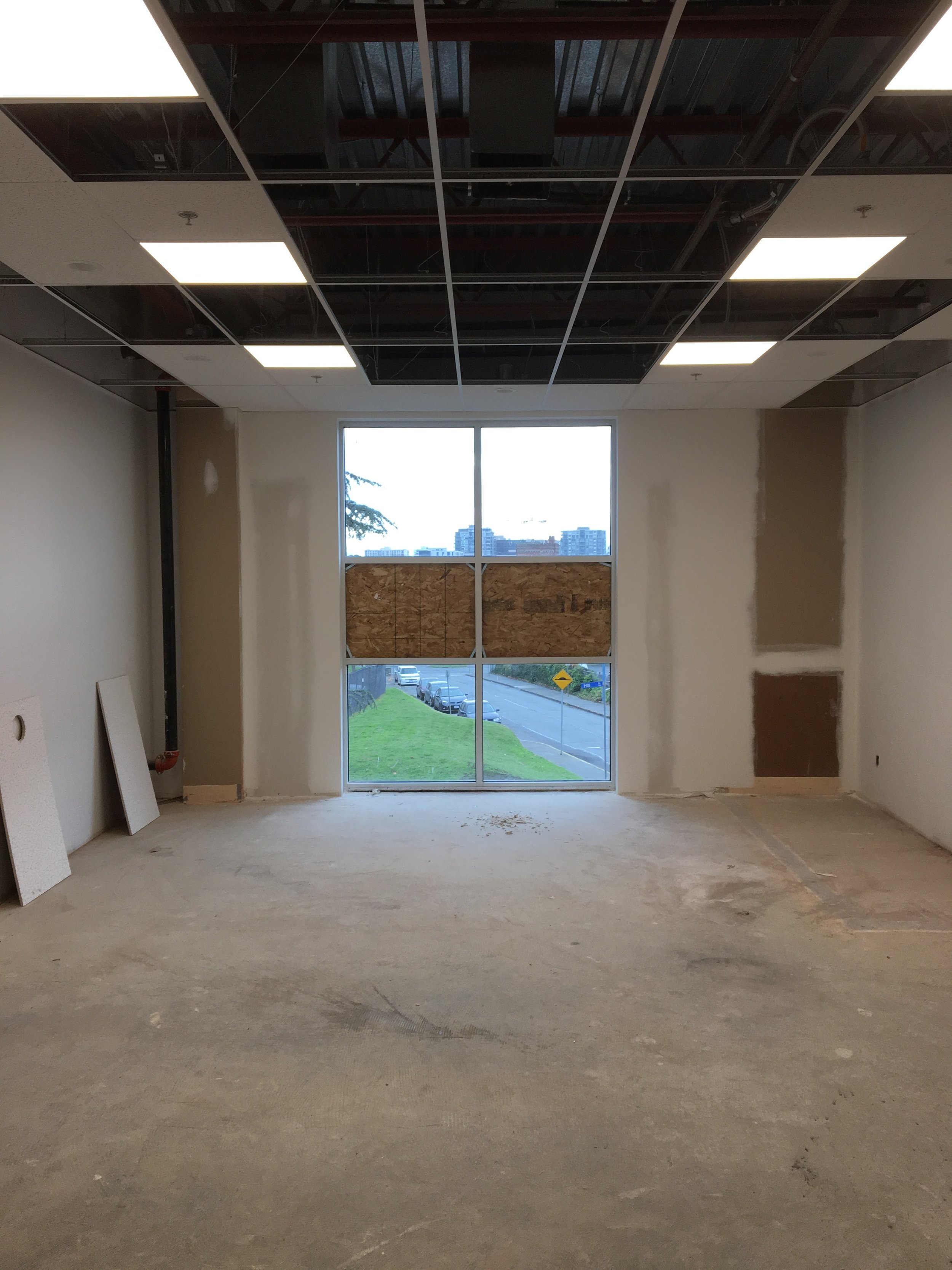 PWP's Living room under construction
