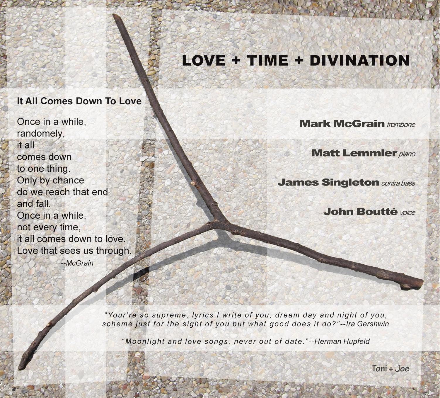 "Album Inside R: ""LOVE+TIME+DIVINATION"" by Mark McGrain"