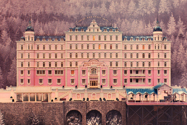 Wes Anderson- The Grand Budapest Hotel