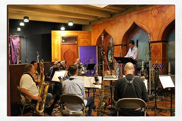 Flashback to the recording sessions that resulted in COLOURS OF SOUND. I'm very pleased by this album and hope you are as well! #fyc #grammys #bigband #originalmusic