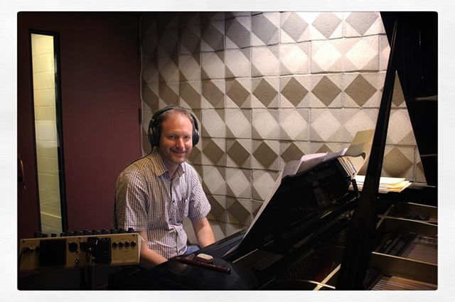 From the recording session for #COLOURSOFSOUND with the @brentfischer_ Orchestra